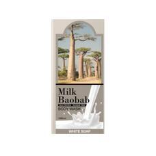 MILK BAOBAB OWS Гель для душа MilkBaobab Original Body Wash White Soap Pouch 10ml