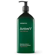 AROMATICA Шампунь против выпадения волос Rosemary Active V Anti-Hair Loss Shampoo 400ML