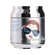 URBAN DOLLKISS 24K Gold Маска для лица глиняно-пузырьковая Urban City Carbonated Charcoal Clay Beer Mask 90гр