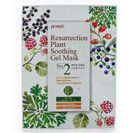 Восстанавливающая тканевая маска с растительными экстрактами PETITFEE Resurrection Plant Soothing Gel Mask, 30г