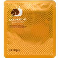 Гидрогелевая маска для лица с золотом и муцином улитки PETITFEE Gold & Snail Hydrogel Mask Pack, 30г