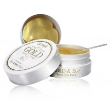 Патчи для области вокруг глаз и для точечного использвания с золотом и EGF PETITFEE Gold & EGF Eye & Spot Patch, 60шт + 30шт