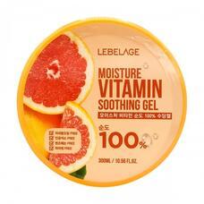 Увлажняющий успокаивающий гель с витаминами LEBELAGE Moisture Vitamin Purity 100% Soothing Gel, 300 мл