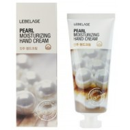 Крем для рук увлажняющий с жемчужной пудрой Lebelage Pearl Moisturizing Hand Cream, 100 мл