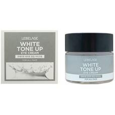 Крем для области вокруг глаз, выравнивающий тон кожи LEBELAGE White Tone Up Eye Cream, 70 мл