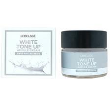 Ампульный крем, выравнивающий тон лица LEBELAGE White Tone Up Ampule Cream, 70 мл