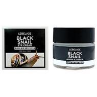 Крем для области вокруг глаз с муцином чёрной улитки LEBELAGE Black Snail Eye Cream, 70 мл