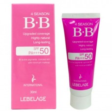 Солнцезащитный ВВ-крем LEBELAGE 4Season BB Cream SPF 50/PA+++, 30 мл