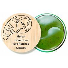 Гидрогелевые патчи с экстрактом зеленого чая L.Sanic Herbal Green Tea Hydrogel Eye Patches, 60 шт
