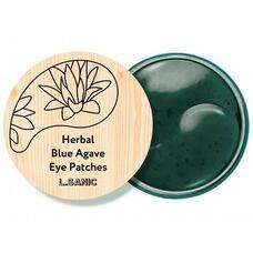 Гидрогелевые патчи с экстрактом голубой агавы L.Sanic Herbal Blue Agave Hydrogel Eye Patches, 60шт