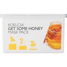 Тканевая маска с экстрактом меда KOELCIA Get Some Honey Mask Pack, 30 шт