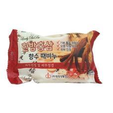 Мыло с отшелушивающим эффектом парфюмированное с красным женьшенем MEDIBEAU Oriental Medicine Red Ginseng Perfumed Peeling Soap, 120г