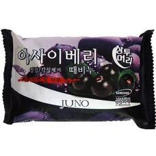 Мыло с отшелушивающим эффектом с асаи JUNO Acai Berry Peeling Soap, 150г