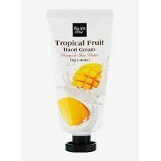Крем для рук Тропические фрукты с манго и маслом ши FarmStay Tropical Fruit Hand Cream Mango & Shea Butter, 50 мл