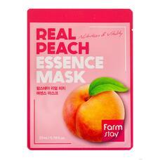 Тканевая маска для лица с экстрактом персика FarmStay Real Peach Essence Mask, 23 мл