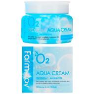 Увлажняющий крем с кислородом FarmStay O2 Premium Aqua Cream, 100г