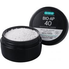 Отбеливающий зубной порошок Dr. Oral Bot-Ap 40 Whitening Powder с наногидроксилоапатитом из гребешков и лизатом лактобактерий 25 гр