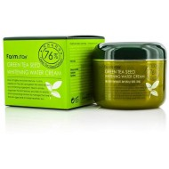 Увлажняющий крем с семенами зеленого чая, выравнивающий тон кожи FarmStay Green Tea Seed Whitening Water Cream, 100г