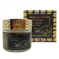 Крем для лица с жиром крокодила FarmStay Crocodile Oil Cream, 70г