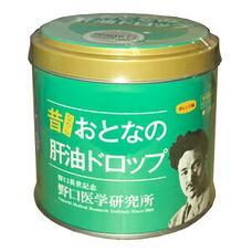 Сквален с витаминами А, С, D, фолиевой кислотой и молочнокислыми бактериями жевательные таблетки апельсиновый вкус Noguchi Otonano Kanyu Drop № 120