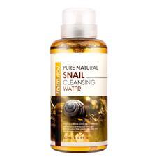 Очищающая вода с муцином улитки FarmStay Pure Natural Snail Cleansing Water, 500 мл