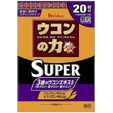 Ukon no Chikara Granule Super Препарат для восстановления и детокса печени три вида куркумы и витамины группы В № 20