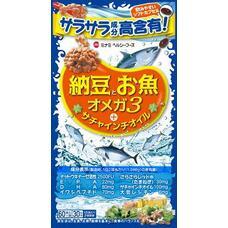 Minami Омега с наттокиназой, пептидами сардиды и маслом сача инчи № 60