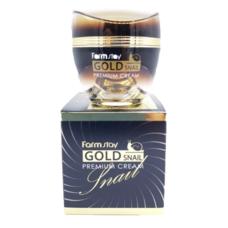 Премиальный крем с золотом и муцином улитки FarmStay Gold Snail Premium Cream, 50 мл