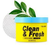 Отшелушивающие диски для обновления кожи EUNYUL Clean & Fresh Pimple & Sebum Clear Pad, 170 мл