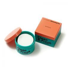 Очищающие диски для снятия макияжа EUNYUL Clean & Fresh Pure Radiance Cleansing Pad, 170 мл