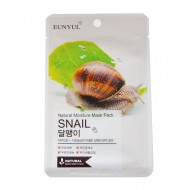 Маска тканевая с муцином улитки EUNYUL Natural Moisture Mask Pack Snail, 22 мл
