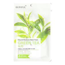 Маска тканевая с экстрактом зеленого чая EUNYUL Natural Moisture Mask Pack Green Tea, 22 мл