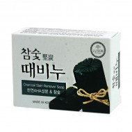 Отшелушивающее мыло с древесным углем Dongbang Charcoal Stain Remover Soap, 100 г