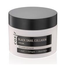 Крем против морщин с коллагеном и муцином черной улитки COXIR Black Snail Collagen Cream, 50 мл