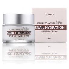 Крем для лица с муцином улитки CELRANICO Return To Nature Snail Hydration Premium Cream, 50 мл