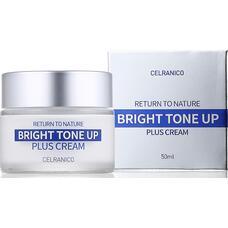 Крем для лица улучшающий тон кожи CELRANICO Return To Nature Bright Tone Up Plus Cream, 50 мл