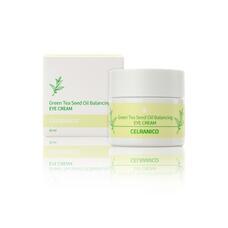 Балансирующий крем для зоны вокруг глаз с семенами зеленого чая CELRANICO Green Tea Seed Oil Balancing Eye Cream, 30 мл