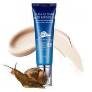 ББ крем с муцином улитки HANHUI Snail Mucus Skin Refinisher B.B Cream SPF 50/PA+++, 50 мл