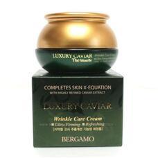 Крем с экстрактом икры антивозрастной BERGAMO Luxury Caviar Wrinkle Care Cream, 50 гр
