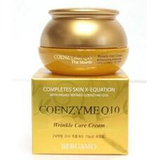 Крем с коэнзимом Q10 антивозрастной BERGAMO Coenzyme Q10 Wrinkle Care Cream, 50 гр