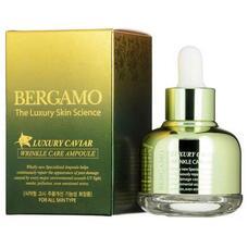 Ампульная сыворотка с экстрактом икры от морщин BERGAMO Luxury Caviar Wrinkle Care Ampoule, 30 мл