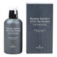 Многофункциональное средство для ухода за мужской кожей The Skin House Homme Innofect All In One Soother, 130 мл