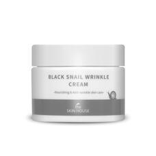 Питательный крем с коллагеном и муцином чёрной улитки The Skin House Black Snail Wrinkle Cream, 50 мл