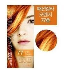 Краска для волос на фруктовой основе WELCOS Fruits Wax Pearl Hair Color #77 60мл*60гр