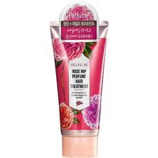 Маска для поврежденных волос WELCOS Around me Rose Hip Perfume Hair Treaetment 200 мл