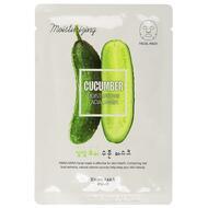 Маска для лица увлажняющая WELCOS Kwailnara Cucumber Moisturizing Facial Mask