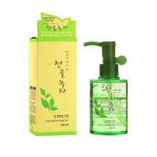Масло очищающее WELCOS Green Tea Deep Cleansing Oil 170 мл