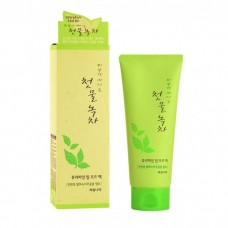 Маска-пленка для лица очищающая WELCOS Green Tea Purifying Peel Off Pack 150 мл