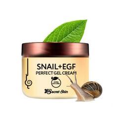 Крем-гель для лица с экстрактом улитки SECRET SKIN SNAIL+EGF PERFECT GEL CREAM 50 гр