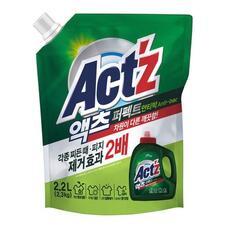 Гель для стирки белья ACT'Z Perfect Anti bacteria (bacterium) (Pouch 2.2L)